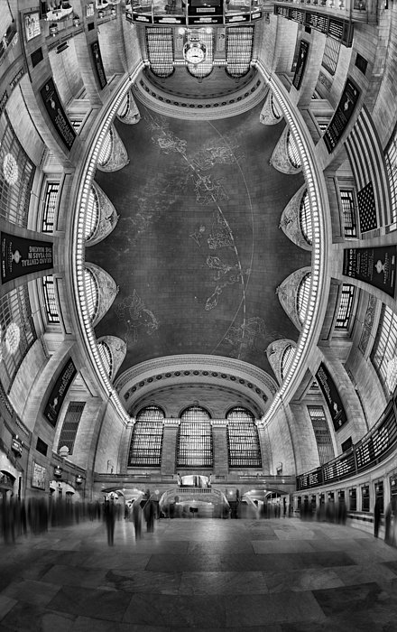 A Grand View Bw Print by Susan Candelario