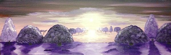A Haze Of Purple Print by Scott Wilmot