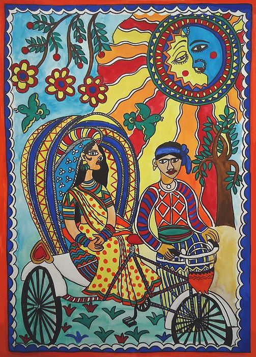 Shakhenabat Kasana - A Journey by Rickshaw