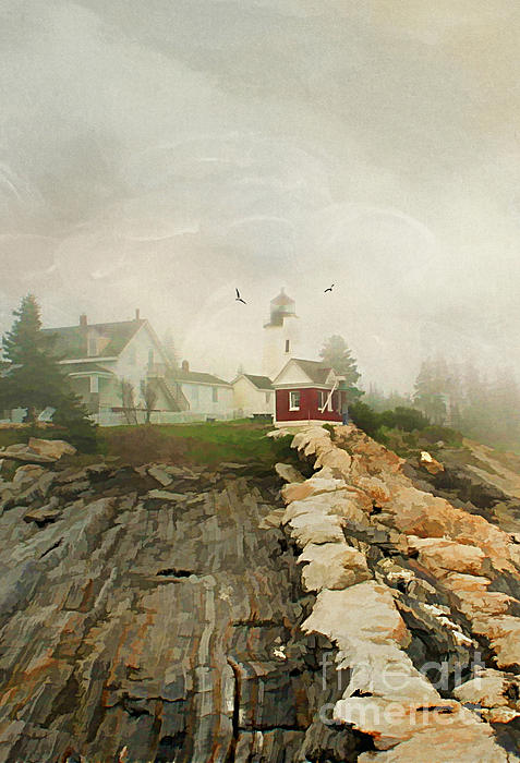 A Morning In Maine Print by Darren Fisher