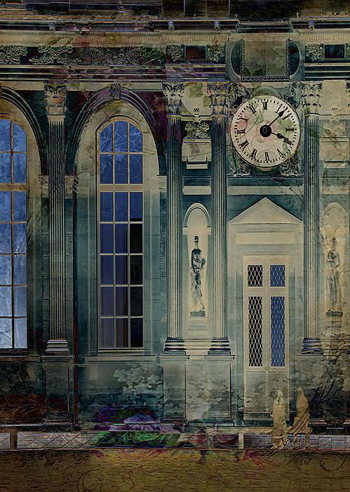 A Night At The Palace Print by Sarah Vernon