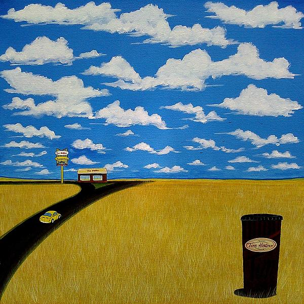 A Prairie Sky Print by John Lyes