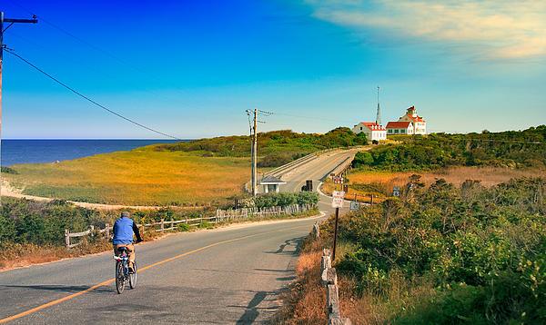A Road To Coast Guard Beach Eastham Cape Cod Print by Dapixara Art