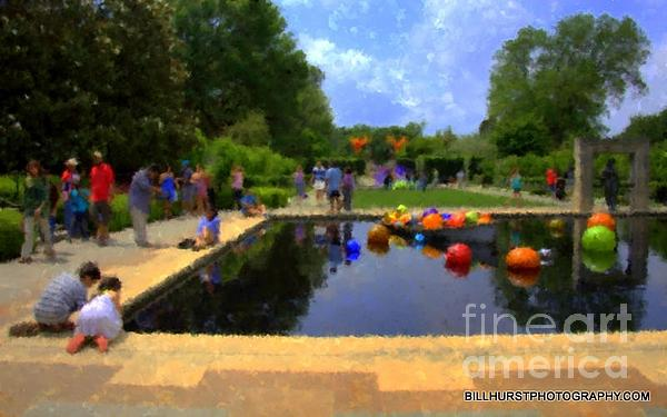 Bill Hurst - A Saturday Afternoon at the Dallas Arboretum