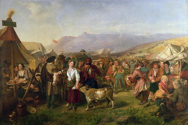 A Scottish Fair Print by John Phillip