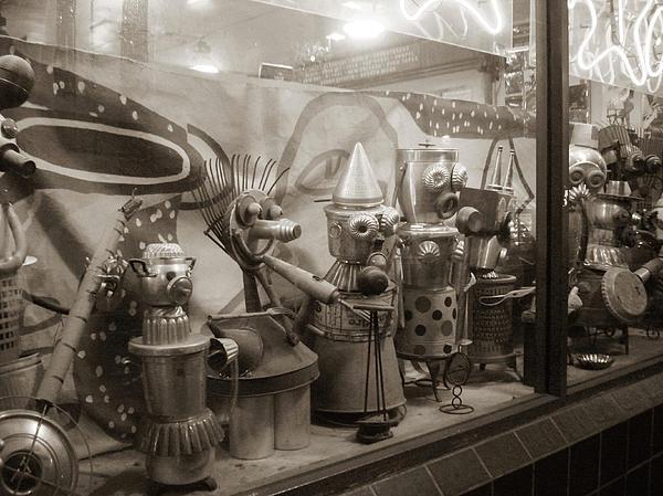A Shop Window At Berkeley Print by Hiroko Sakai