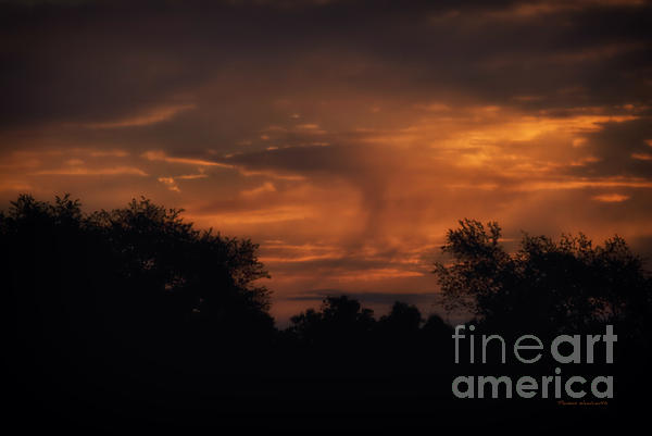 A Spectacular Sunrise Print by Thomas Woolworth