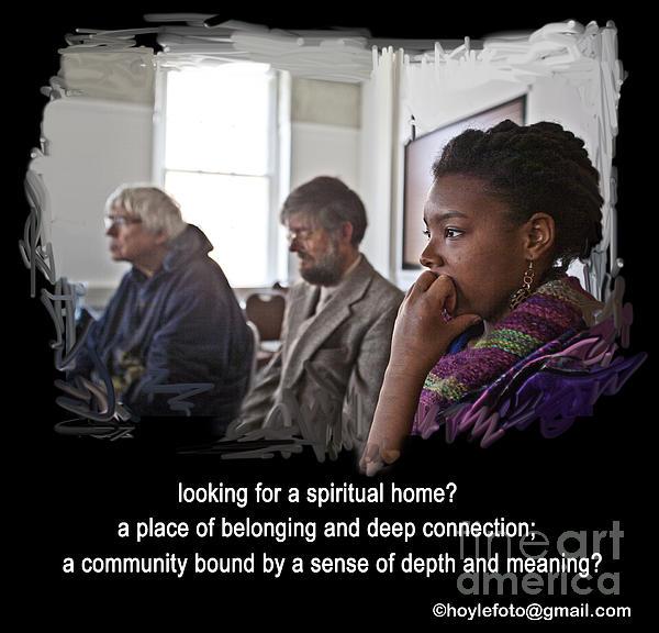 A Spiritual Home Print by Mike Hoyle