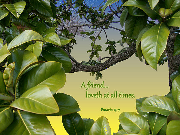 A True Friend Print by Larry Bishop