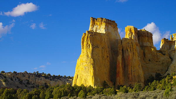 A View In The Grand Escalante Staircase Print by Jeff  Swan