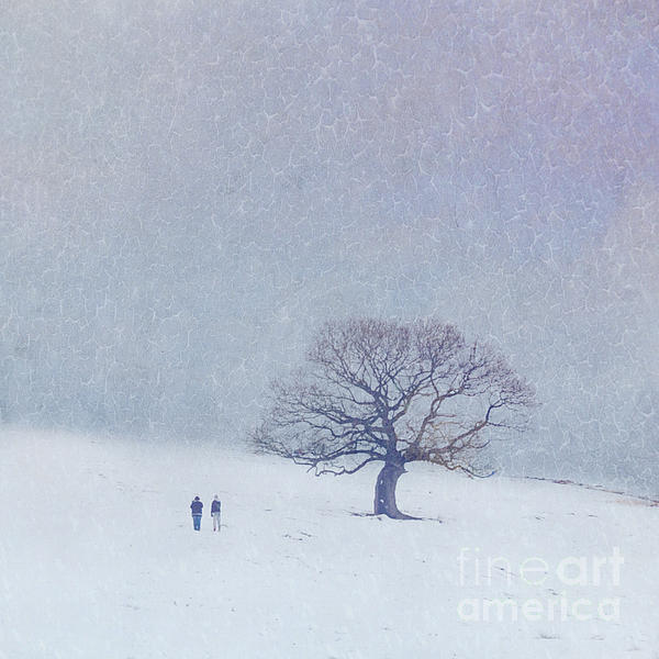 A Walk In The Snow Print by Lyn Randle