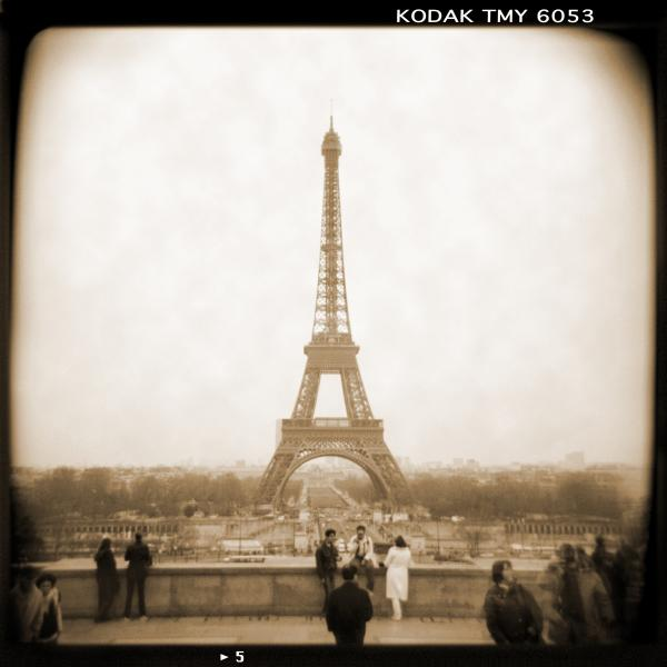 A Walk Through Paris 5 Print by Mike McGlothlen