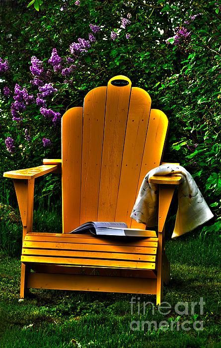 A Well Deserved Rest Print by Randi Grace Nilsberg