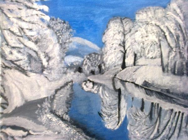 Zornitsa Tsvetkova - A winter picture