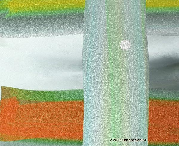 A Winter's Walk Print by Lenore Senior