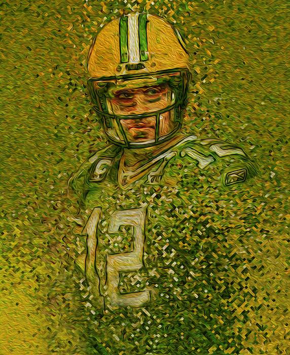 Jack Zulli - Aaron Rogers Green Bay Packers