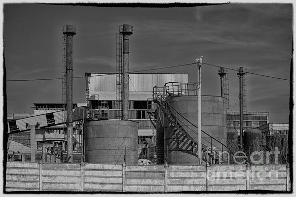 Abandoned Factory At Vadu Print by Gabriela Insuratelu