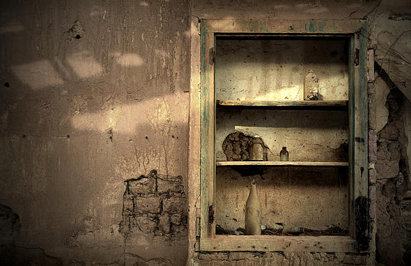 Abandoned Kitchen Cabinet Print by RicardMN Photography