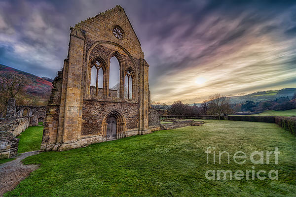 Abbey Ruins Print by Adrian Evans