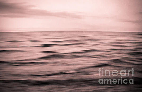 About The Sea II Print by Iris Lehnhardt