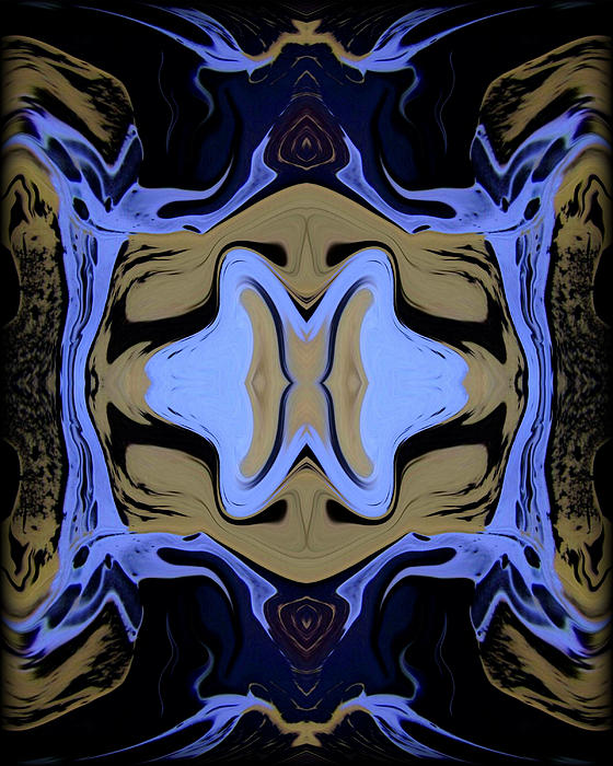 Abstract 161 Print by J D Owen