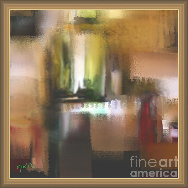 Abstract 972 Print by Nedunseralathan R