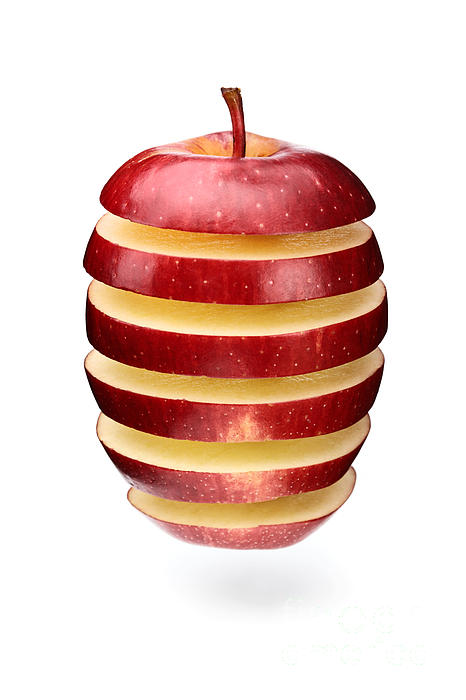 Johan Swanepoel - Abstract apple slices