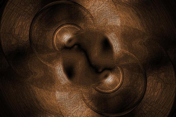 Abstract Circles Print by Steve Ball