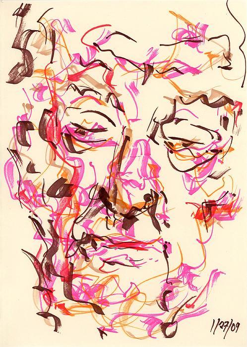 Rachel Scott - Abstract Face