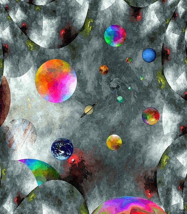 Abstract Fractillious-episode Two-creations Explosion Print by Glenn McCarthy Art and Photography