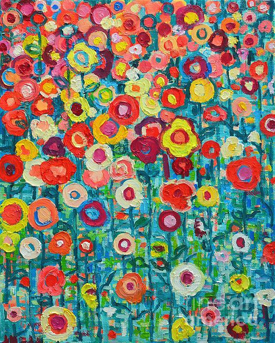 Ana Maria Edulescu - Abstract Garden Of Happiness