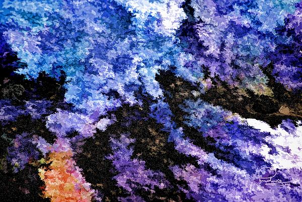 Abstract Granite Print by Ludwig Keck