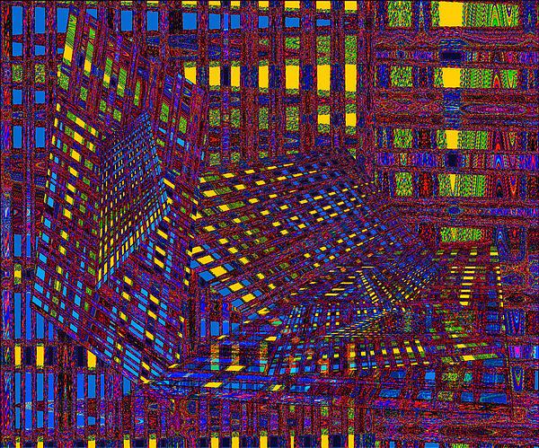 Linda Haynes - Abstract Layers of Separation