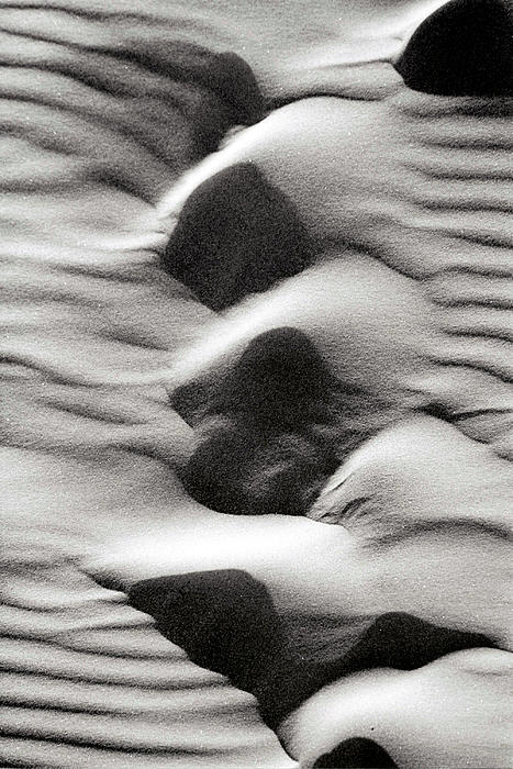 Abstract Sand 6 Print by Arie Arik Chen