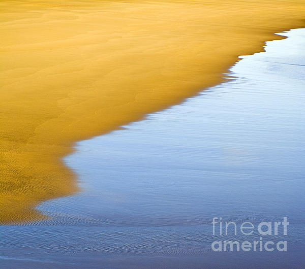 Abstract Seascape Print by Frank Tschakert