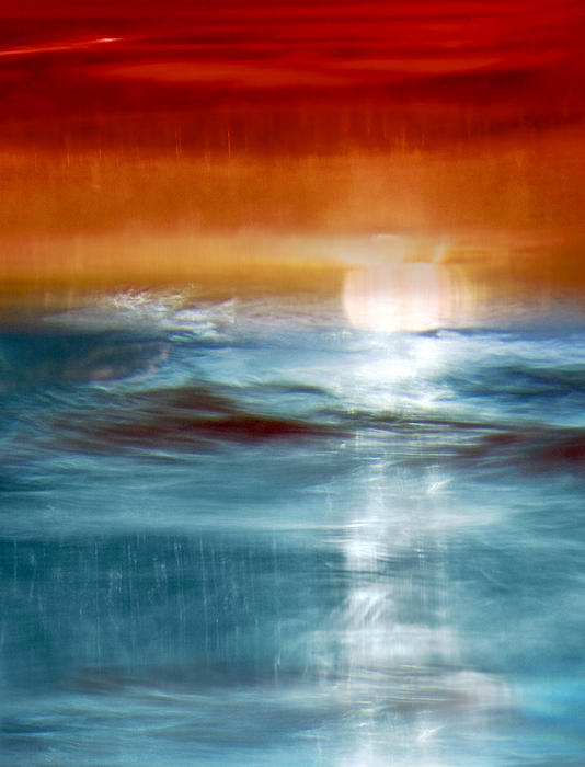 Abstract Seascape Print by Natalie Kinnear