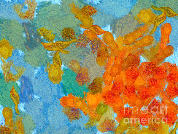 Abstract Summer #2 Print by Pixel Chimp