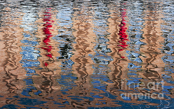 Abstract Water Ripples  Print by Tim Gainey