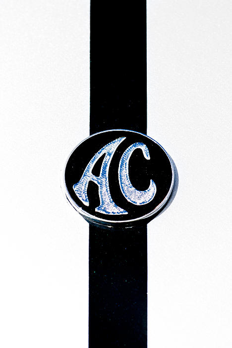 Ac Cobra Badge Print by Phil 'motography' Clark