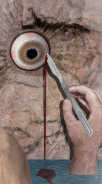 Acute Eye Pain  Print by Jacob King