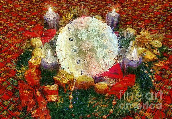 Advent  Print by Odon Czintos