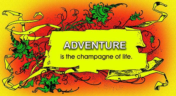 Adventure Print by Mike Flynn