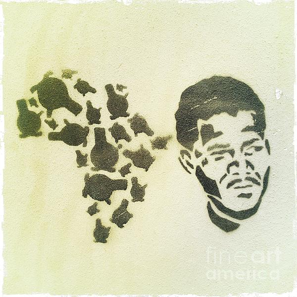 African Icon Print by Neil Overy