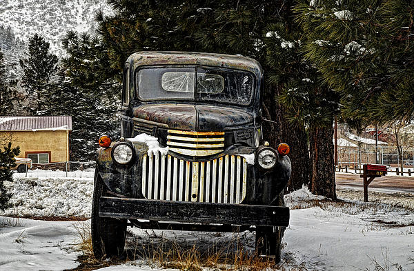 After The Snow Falls Print by Ken Smith