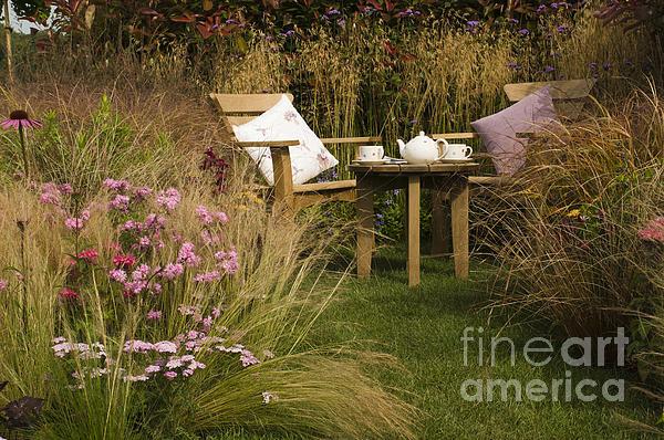 Afternoon Tea Print by Anne Gilbert