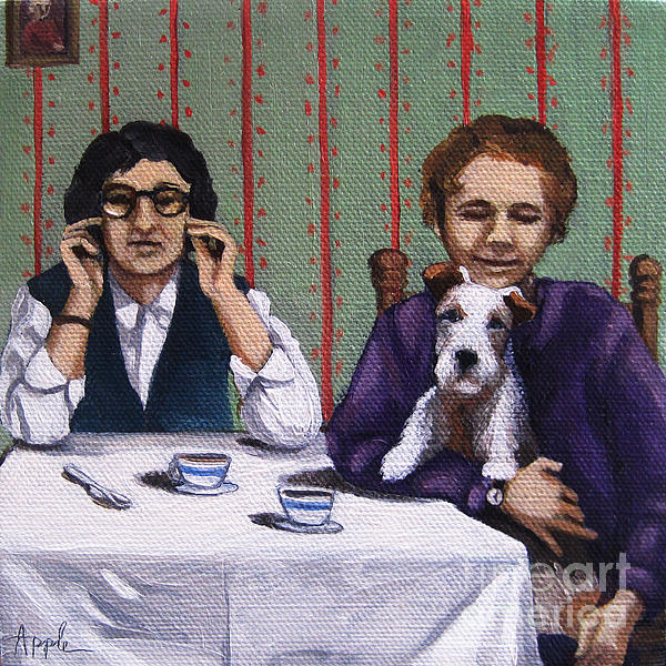 Afternoon Tea Print by Linda Apple