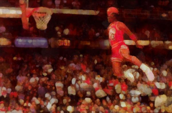 Air Jordan Print by Dan Sproul