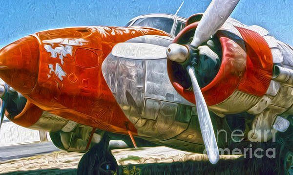 Airplane Graveyard - 21 Print by Gregory Dyer
