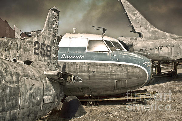 Airplane Graveyard Print by Gregory Dyer