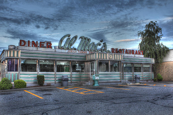 Al Mac's Diner Print by Andrew Pacheco
